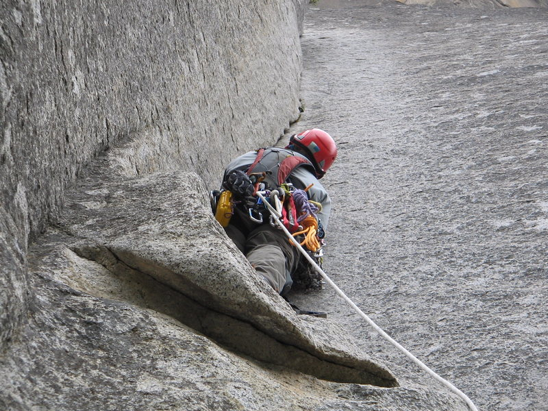 Rock Climbing Photo: South Face of Wash. Column