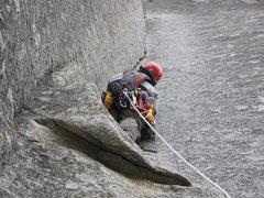 Rock Climbing Photo: South Face of Wash. Column
