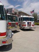 Rock Climbing Photo: Fire trucks are cool!