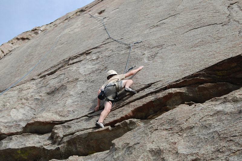 Lovely climb