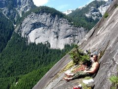 Rock Climbing Photo: Beer Ledge