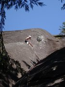 "Rock Climbing Photo: Top of ""infectious grooves"" pitch"