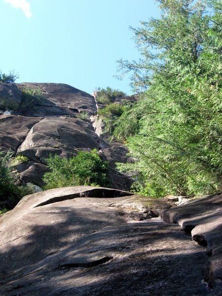 Rock Climbing Photo: Base of Psychopath