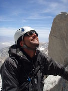 On the East Buttress of Mount Whitney, May 2008. Photo by Robert Zeithammer.