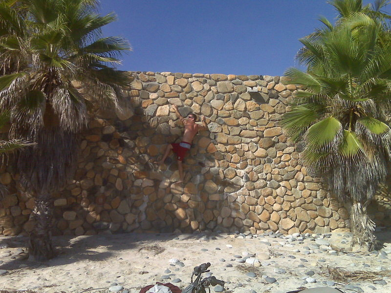 Rock Climbing Photo: Buildering Baja