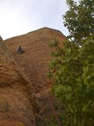 Rock Climbing Photo: East face of Teaching Rock.