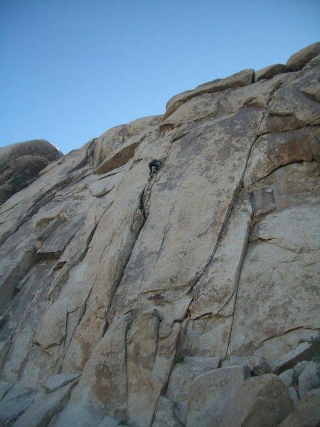 Rock Climbing Photo: Angela smoking up feltonian physics