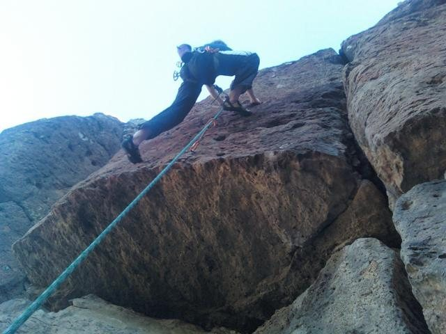 Rock Climbing Photo: Sorry for the buttshot and feel free to replace on...
