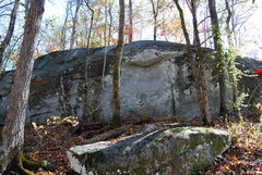 Rock Climbing Photo: Starts to the left of middle and works right.