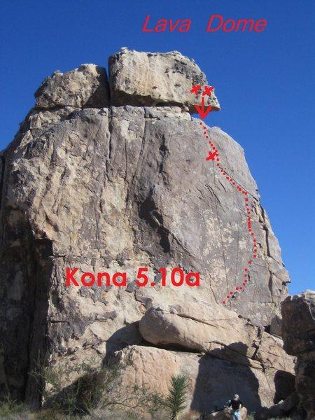 Rock Climbing Photo: Kona
