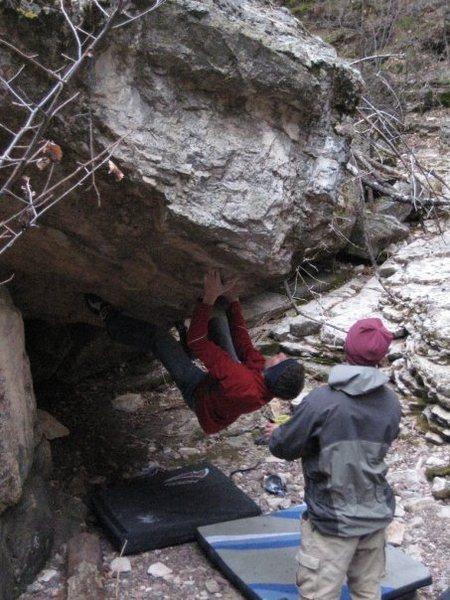 Rock Climbing Photo: Kai Segrud