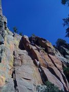 Rock Climbing Photo: Hand crack, solo