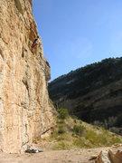 Rock Climbing Photo: Photo taken during the Thanksgiving2008 weather th...