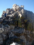 Rock Climbing Photo: Shoshoni, Indian Peaks. Photo taken by Beau Burris