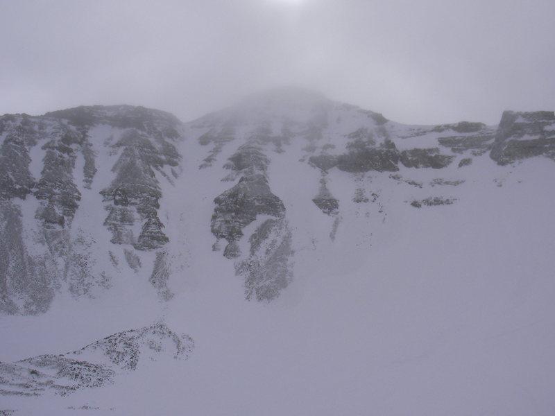 Castle Peak North Face Photo taken by Austin Porzak