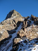 Rock Climbing Photo: Peak C. Gore Range Photo: Austin Porzak