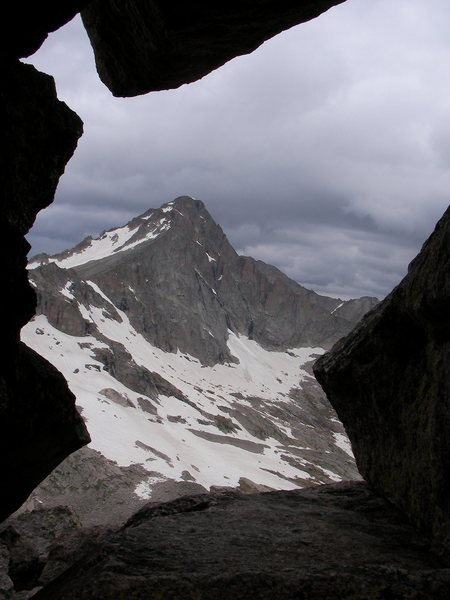 Rock Climbing Photo: McHenry's as seen from Spearhead. Photo taken by A...