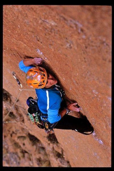 Rock Climbing Photo: Heidi in Morocco by Kristoffer Erickson