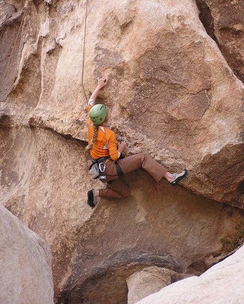 Rock Climbing Photo: Interesting problem Eric Ivey talked me into tryin...