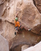 Rock Climbing Photo: Interesting problem Eric Ivey talked me into tryin...