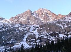 Rock Climbing Photo: Black Lake's West Gully on December 2, 2008.  (Ver...
