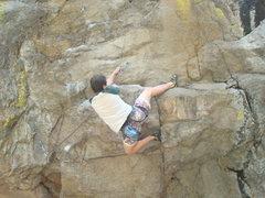 Rock Climbing Photo: Beta Heel Hook