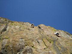 Rock Climbing Photo: Warpath and Warpaint
