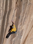 Rock Climbing Photo: Crux #3.  Static moves off small holds (shown here...
