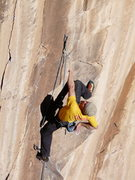 Rock Climbing Photo: This is the good shake out just before the third c...