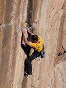 Rock Climbing Photo: This shot shows the start of the hand traverse.
