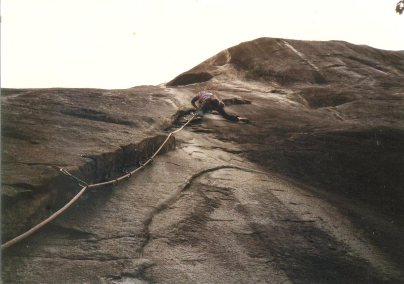 Rock Climbing Photo: back when I was studly...