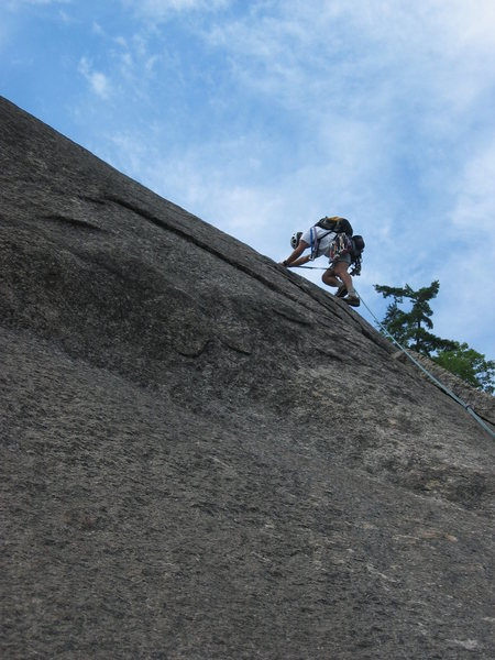 Sliding Board 5.7,Whitehorse Ledge, North Conway, NH