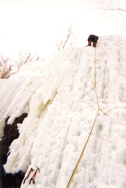 Adirondack's Ice Cascade Pass NEI 3+