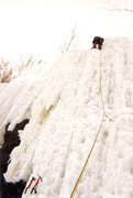 Rock Climbing Photo: Adirondack's Ice Cascade Pass NEI 3+
