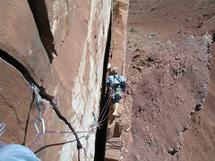 Rock Climbing Photo: There are good belays and there are good belays...