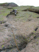 Rock Climbing Photo: Looks like i'm the rotten egg on this pitch... sig...