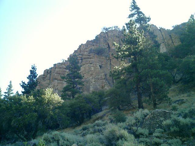 Rock Climbing Photo: River Rock