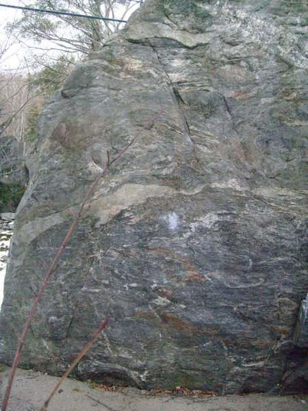 Rock Climbing Photo: start low on small sidepulls and power on up.