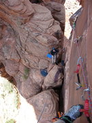 Rock Climbing Photo: Kor Route in spring 2008.