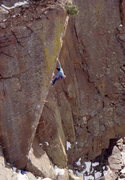 Rock Climbing Photo: Bob Horan on 1st ascent of New Horizons.