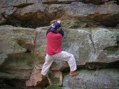 Rock Climbing Photo: Rock City Park, Olean I believe...