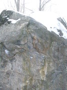Rock Climbing Photo: These are the starting holds. On the two small cha...