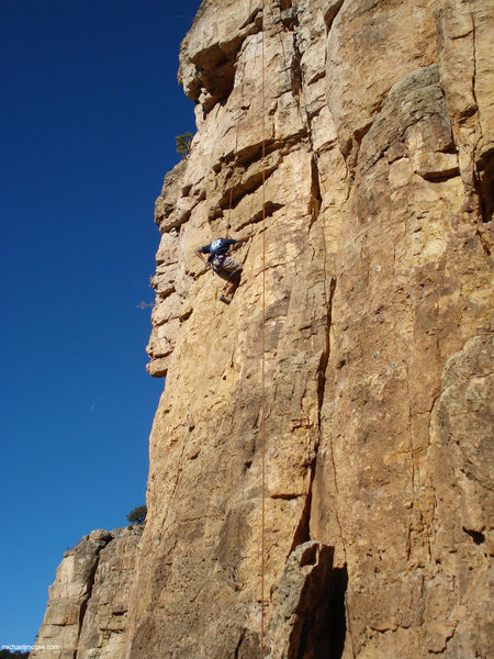 Rock Climbing Photo: C6 Dillinger is just to the right.