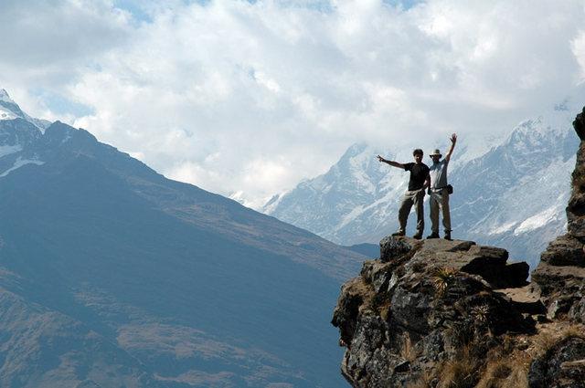 Rock Climbing Photo: Spectacular view!