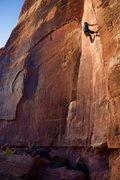Rock Climbing Photo: Climbers I met on Generic Crack