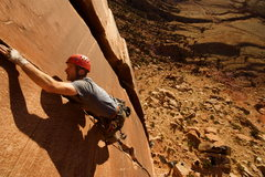 Rock Climbing Photo: Les, Blue Sun