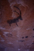 Rock Climbing Photo: Pictograph seen on an approach