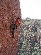 Rock Climbing Photo: Desert Devil, The Pond, Queen Creek, Az