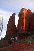 Rock Climbing Photo: The Mase,Sadona, Az