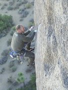 Rock Climbing Photo: The Rubicon, J tree CA